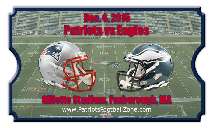 patriots vs eagles